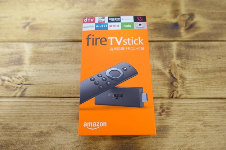 Fire TV Stick 箱!